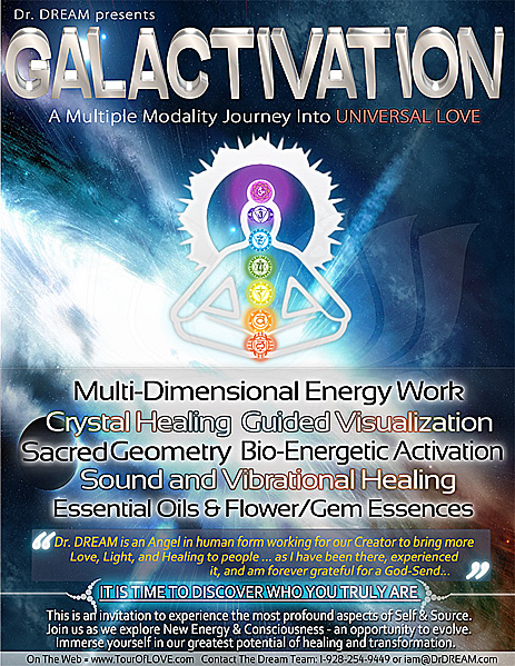 Universal LOVE Galactivation