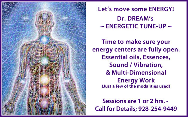 Energetic Tune-up with Dr. DREAM